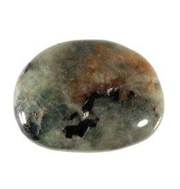 Tugtupiet (groen) steen getrommeld 5 - 10 gram