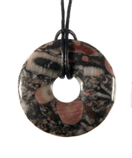 Trochiet hanger donut 3 cm