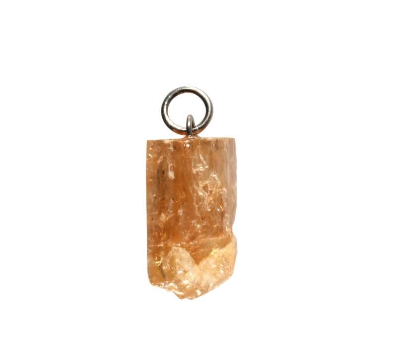 Topaas (goud of edel) hanger kristal 1 - 2 gram