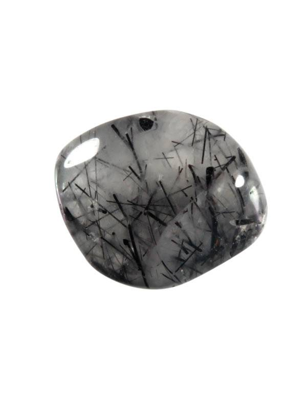 Toermalijnkwarts steen getrommeld 5 - 10 gram