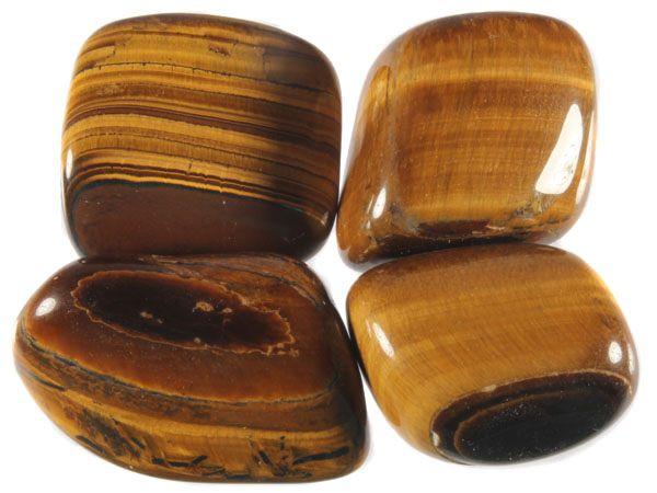 Tijgeroog steen getrommeld 20 - 30 gram
