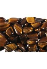 Tijgeroog steen getrommeld 2 - 5 gram