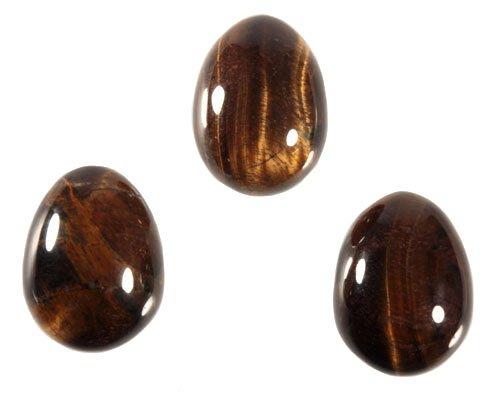 Tijgeroog edelsteen ei 4,5 x 3,5 cm