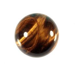 Tijgeroog edelsteen bol 40 mm