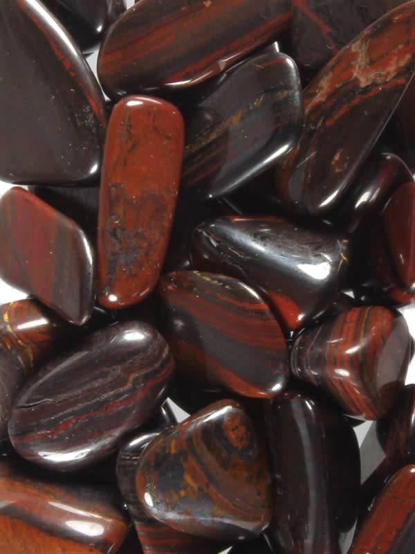 Tijgerijzer steen getrommeld 5 - 10 gram