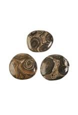 Stromatoliet steen plat gepolijst