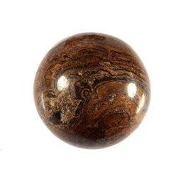 Stromatoliet edelsteen bol 40 mm