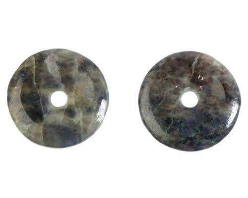 Sterrensteen hanger donut 3 cm