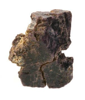 Spinel ruw 8 x 6 x 6 cm / 511 gram