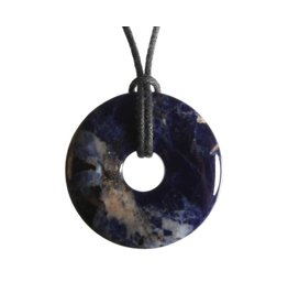 Sodaliet hanger donut 3 cm
