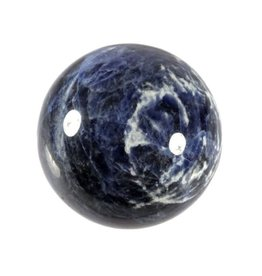 Sodaliet edelsteen bol 68 - 72 mm