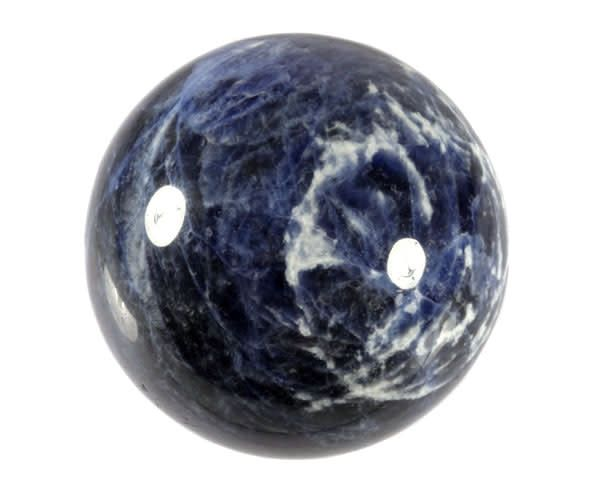 Sodaliet bollen, eieren en harten
