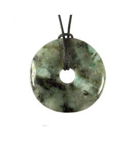 Smaragd hanger donut 4 cm