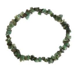 Smaragd armband split