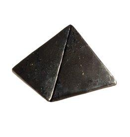Shungiet edelsteen piramide 3,5 - 4 cm