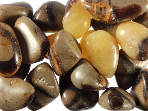 Septarie steen getrommeld 5 - 10 gram