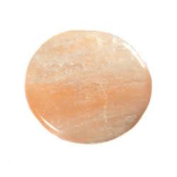 Seleniet (oranje) steen plat gepolijst