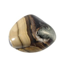 Schalenblende steen getrommeld 10 - 15 gram