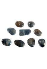 Saffier steen getrommeld 2 - 5 gram