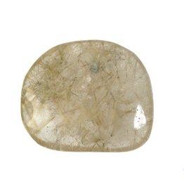Rutielkwarts steen B-kwaliteit plat gepolijst