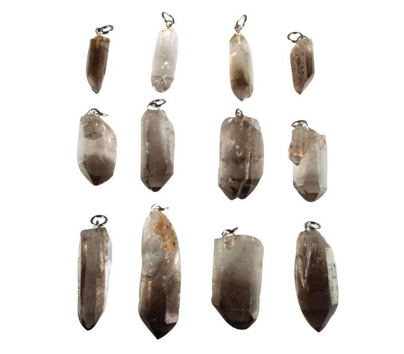 Rookkwarts hanger kristal