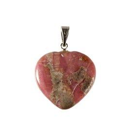 Rhodoniet hanger hart 20 mm