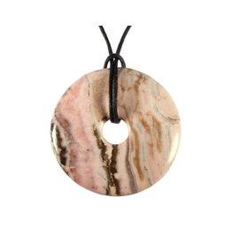 Rhodochrosiet hanger donut 4 cm