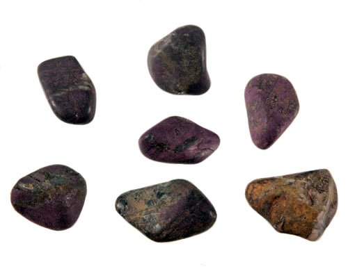 Purpuriet steen getrommeld 10 - 15 gram