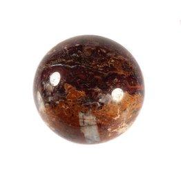 Pietersiet (bruin) edelsteen bol 56 mm