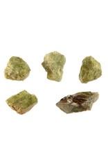 Peridoot kristal 2 - 5 gram