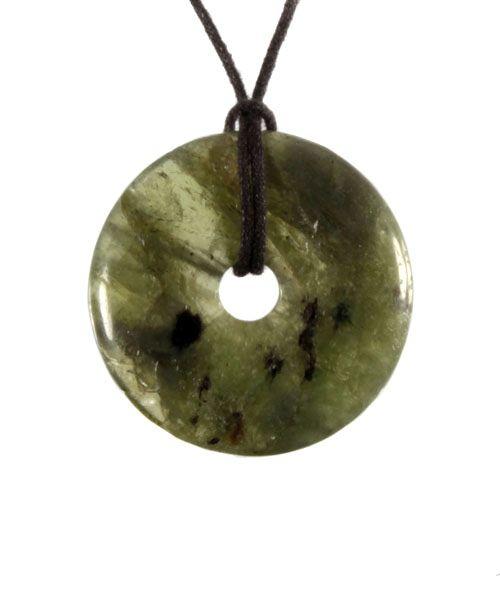 Peridoot hanger donut 3,5 - 4 cm