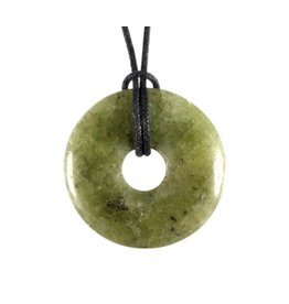 Peridoot hanger donut 3 cm