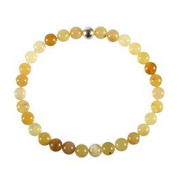 Opaal (honing) armband 18 cm | 6 mm kralen