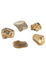 Opaal (grijs) steen getrommeld 2 - 5 gram