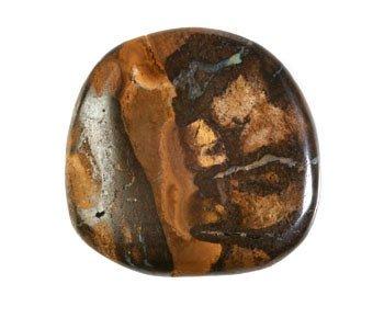 Boulder opaal steen