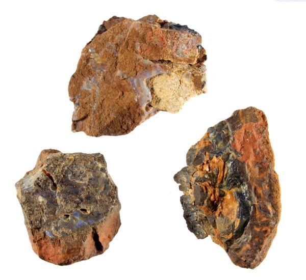 Opaal (Boulder) in moedergesteente 175 - 250 gram