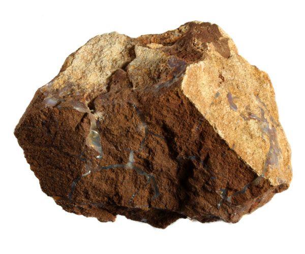 Boulder opaal ruw