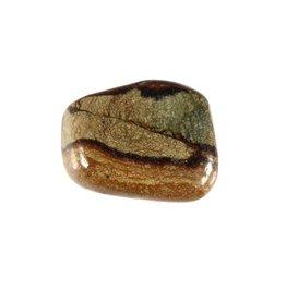 Olivijn steen getrommeld 2 - 5 gram