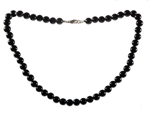 Zwarte obsidiaan ketting
