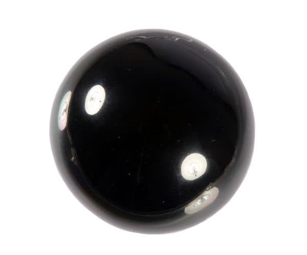 Zwarte obsidiaan bol