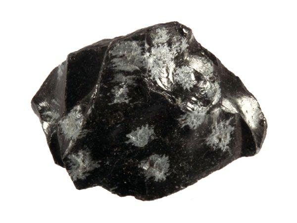 Sneeuwvlok obsidiaan ruw