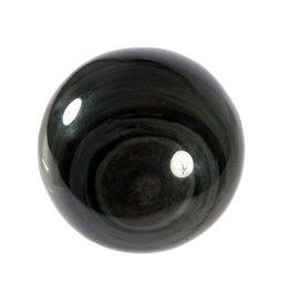 Obsidiaan (regenboog) edelsteen bol 90 mm