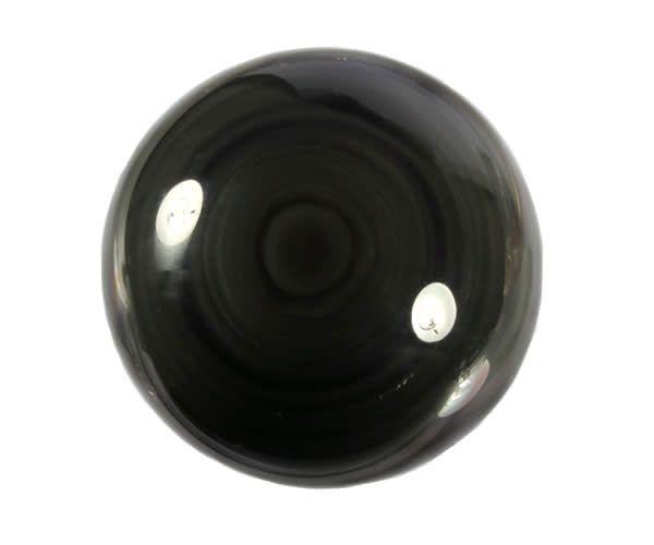 Obsidiaan (regenboog) edelsteen bol 75 mm