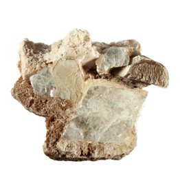 Muscoviet of moskoviet (ruit) met albiet ruw 8,7 x 8,3 x 5,8 cm / 220 gram
