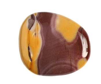 Mookaiet steen plat gepolijst