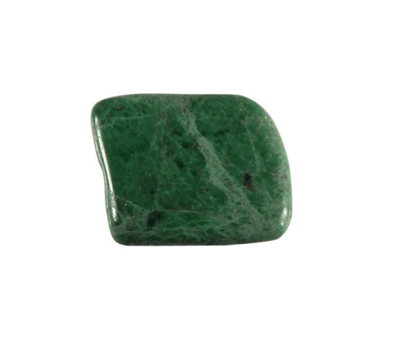 Maw sit sit (jade met albiet) steen getrommeld 2 - 5 gram