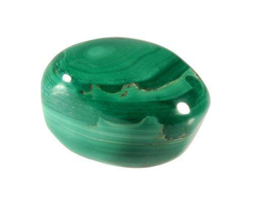 Malachiet steen getrommeld 10 - 20 gram