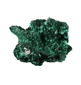 Malachiet (fluweel) ruw 40 - 60 gram