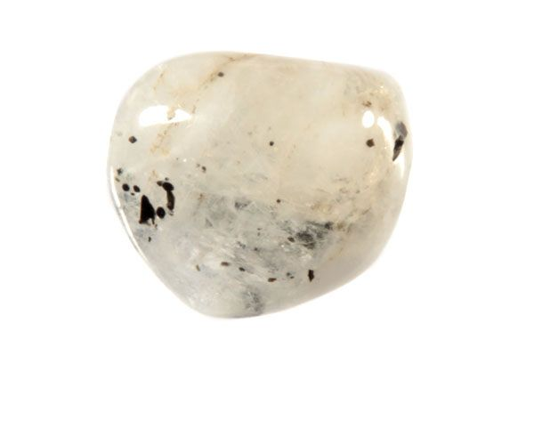 Maansteen (regenboog) steen getrommeld 5 - 10 gram