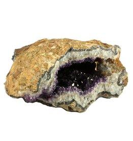 Amethist geode 31 x 25 x 15 cm / 10,63 kg